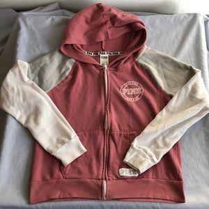 Victoria Secret Pink! Zip Up Jacket Hoodie